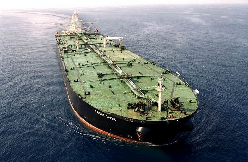 VLCC Tanker Front Duke Frontline Aktien