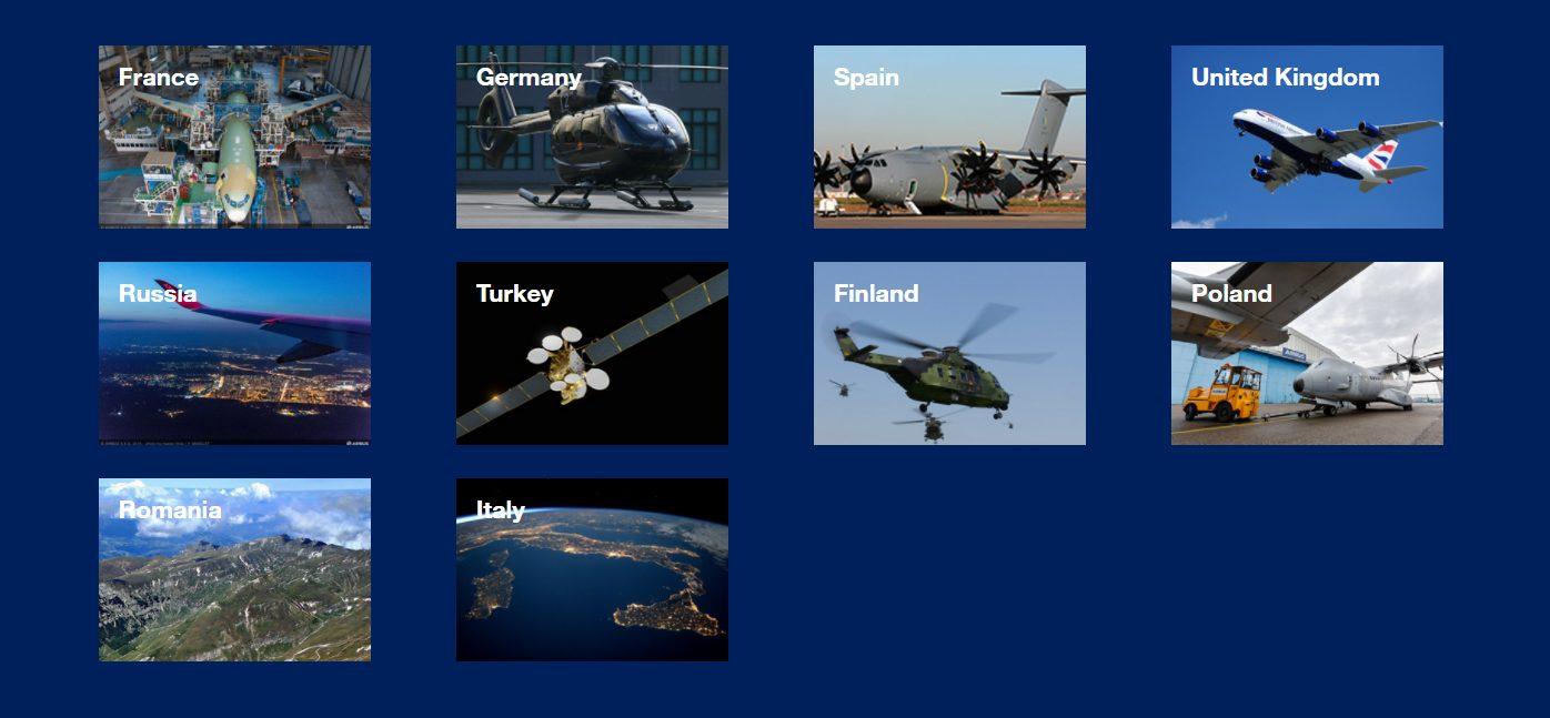 Airbus Group Niederlassungen