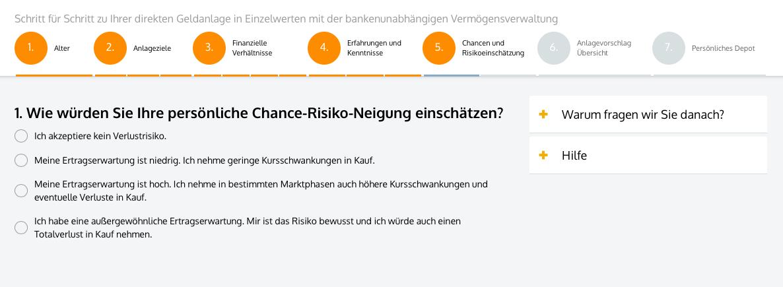 Solidvest - Chance-Risiko-Neigung