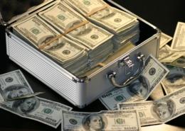 Leitwährungen machen den Haupteil von Transaktionen aus.