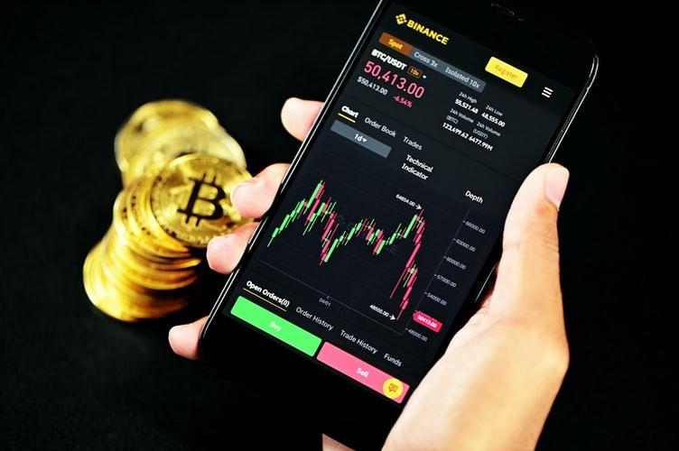 Finanzmarkt Trading